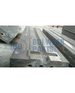 Hazemag APSM-1315 APSM -1515 APSM-1615 BLOW BAR PN 1050 Without paint