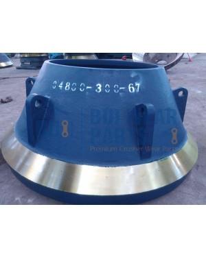 Terex MVP380 Coarse Bowl Liner PN 04800-300-67