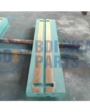 Hazemag APSM-1315 APSM -1515 APSM-1615 BLOW BAR PN 1050 With paint