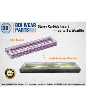 Starry Carbide Insert